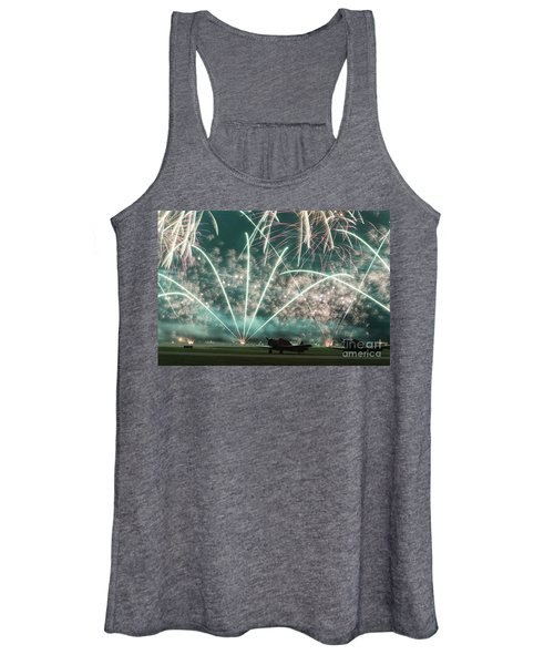 Fireworks And Aircraft Women's Tank Top