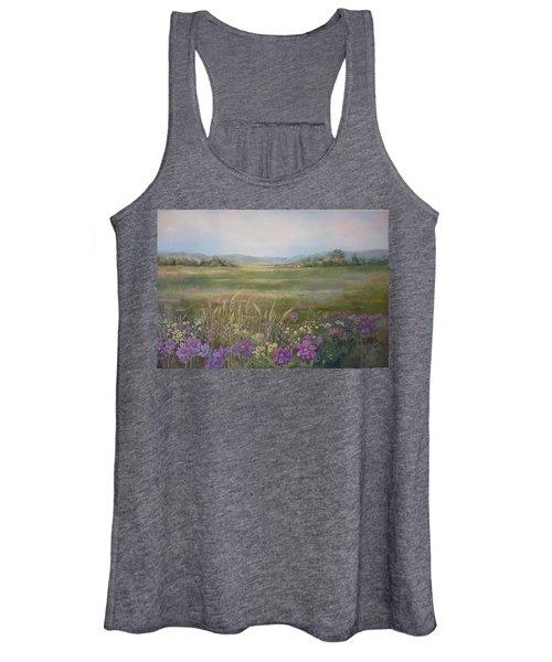 Flower Field Women's Tank Top