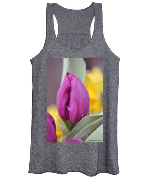 Flower In The Spring Women's Tank Top