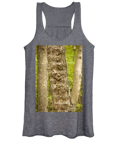 Fluted Tree Women's Tank Top