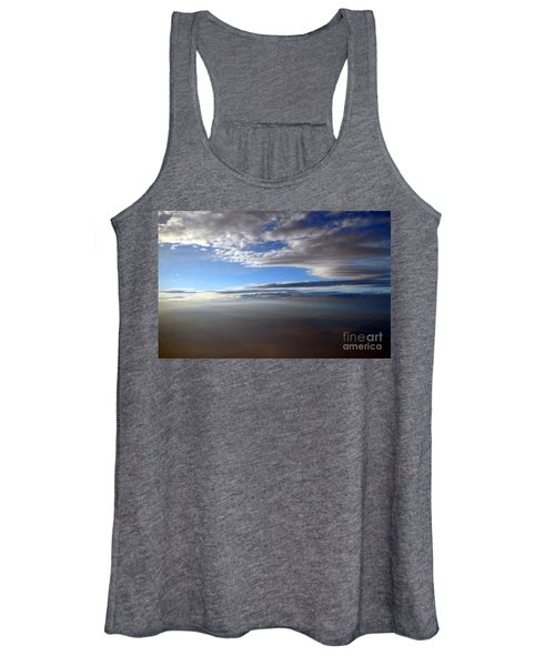 Flying Over Southern California Women's Tank Top