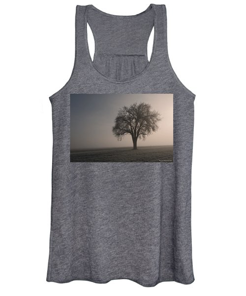 Foggy Morning Sunshine Women's Tank Top