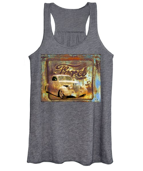 Ford Coupe Rust Women's Tank Top