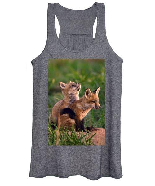Fox Cub Buddies Women's Tank Top