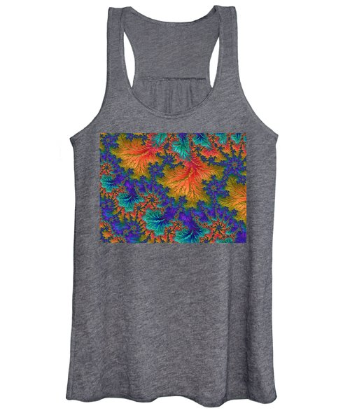 Fractal Jewels Series - Jubilation Women's Tank Top