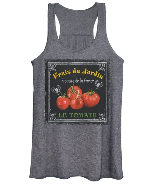 French Vegetables 1 Women's Tank Top