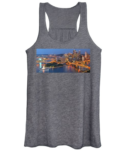 From The Fountain To Ft. Pitt Women's Tank Top
