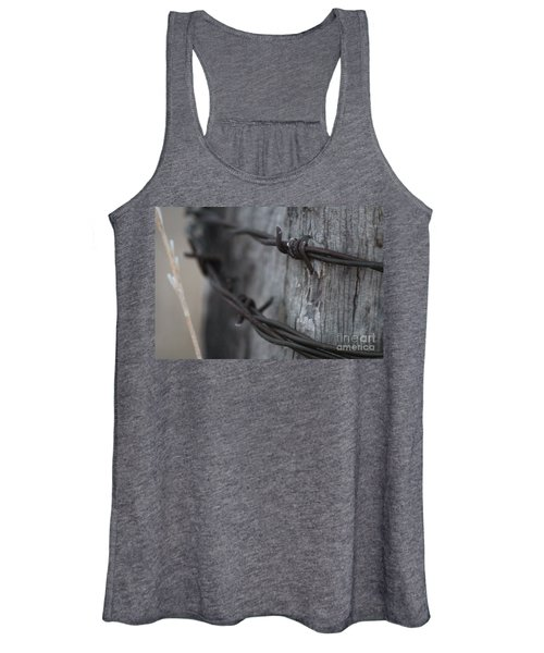 Frost On The Wire Women's Tank Top