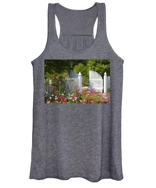 Garden Gate Women's Tank Top