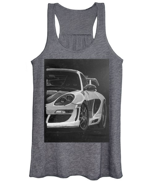 Gemballa Porsche Left Women's Tank Top
