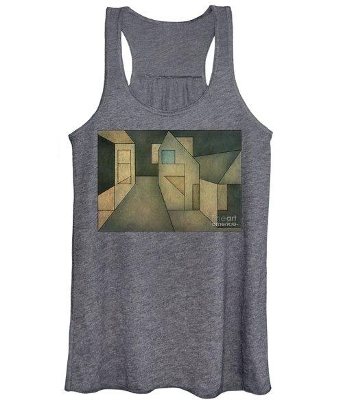 Geometric Abstraction II Women's Tank Top