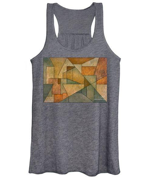 Geometric Abstraction Iv Women's Tank Top