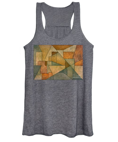 Geometric Abstraction Iv Women's Tank Top