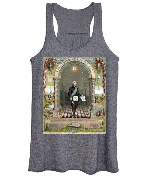 George Washington Freemason Women's Tank Top