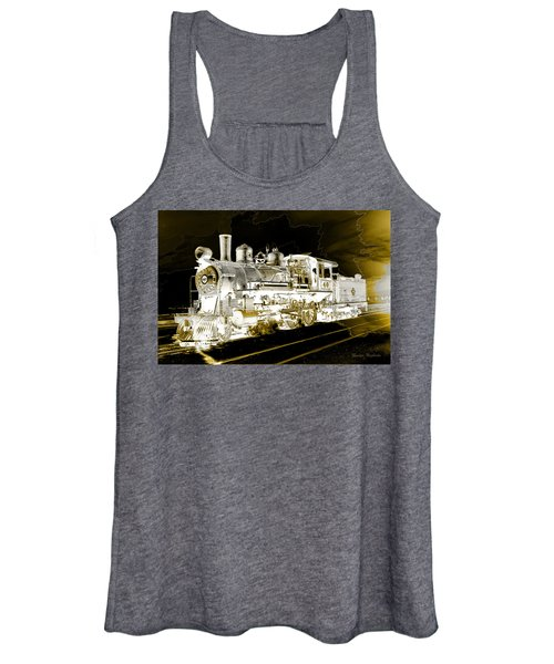 Ghost Train Women's Tank Top