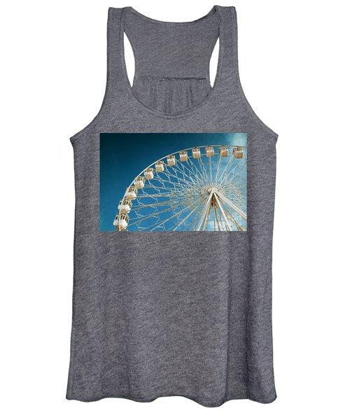 Giant Ferris Wheel Women's Tank Top