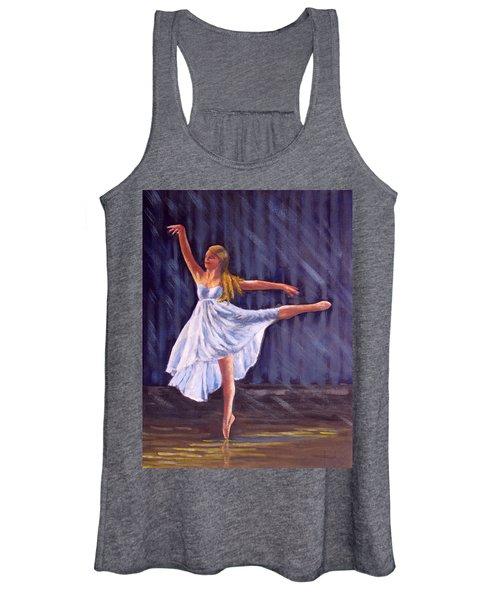 Girl Ballet Dancing Women's Tank Top