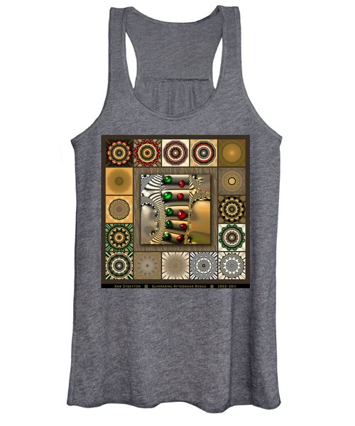 Glimmering Afternoon Redux Women's Tank Top