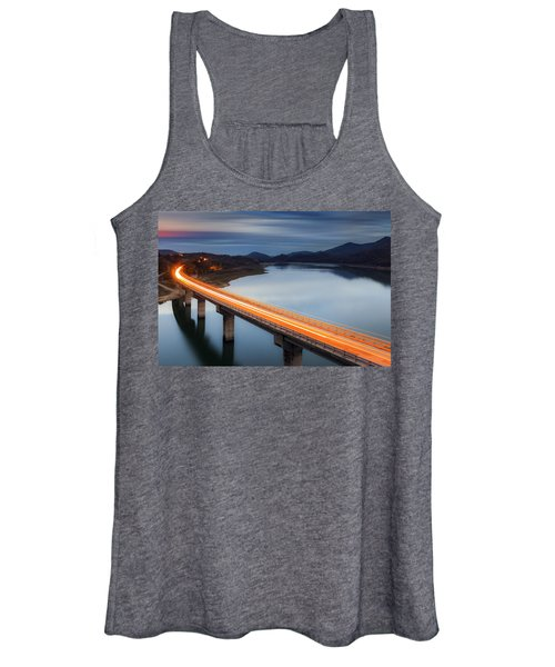 Glowing Bridge Women's Tank Top