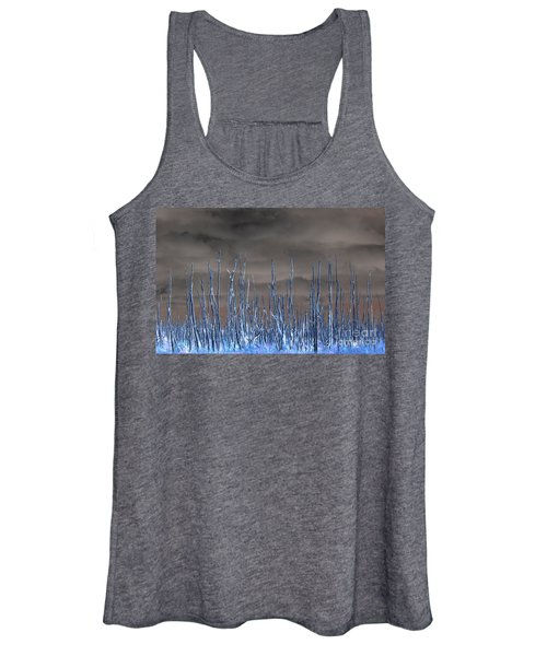 Glowing Trees 1 Women's Tank Top