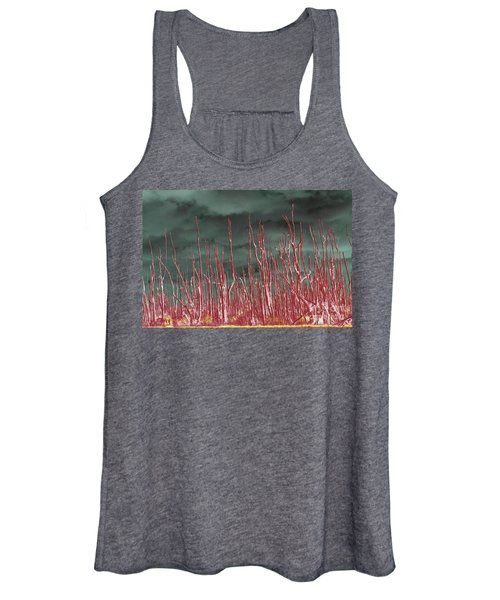Glowing Trees 2 Women's Tank Top