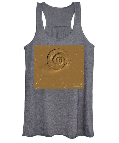 Golden Fantasy. Shell. Abstarct. Beautiful Home Collection 2015 Women's Tank Top