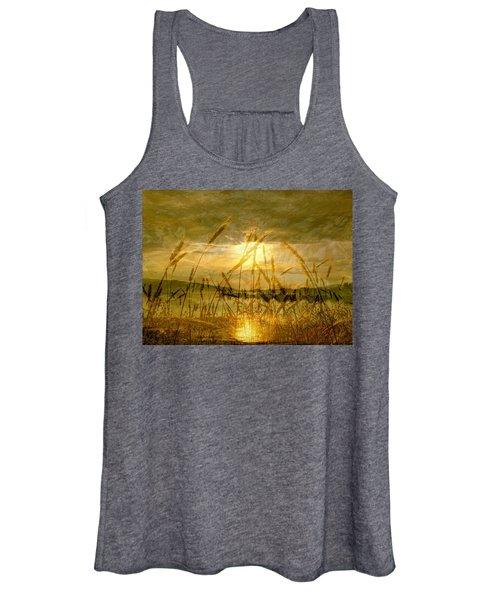 Golden Sunset Women's Tank Top