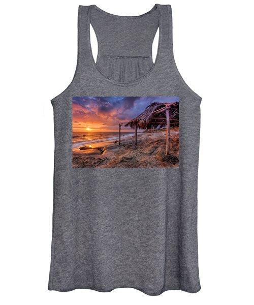 Golden Sunset The Surf Shack Women's Tank Top