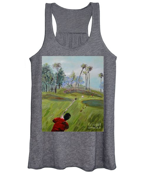 Golfing At Monarch Women's Tank Top