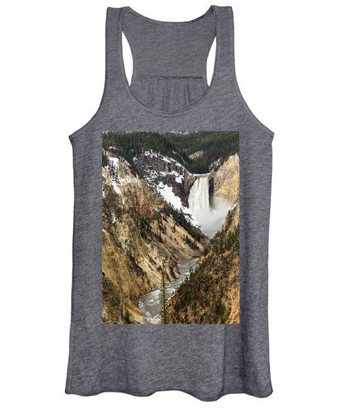 Grand Canyon Of The Yellowstone Women's Tank Top