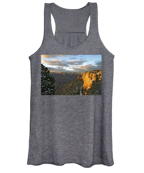 Grand Canyon. Winter Sunset Women's Tank Top