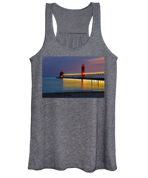 Grand Haven South Pier Lighthouse Women's Tank Top