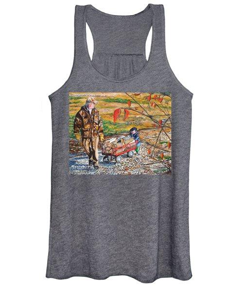 Grandpa's Helper Women's Tank Top