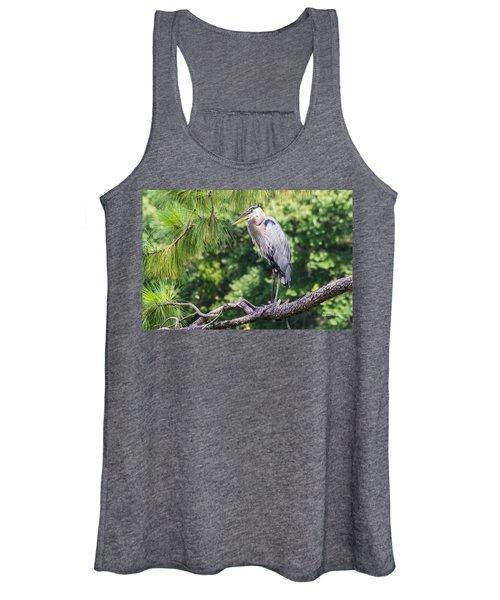 Great Blue Heron I Women's Tank Top