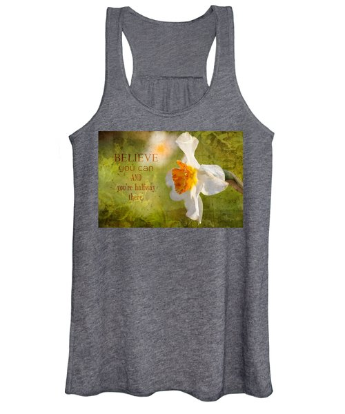 Halfway There With Message Women's Tank Top