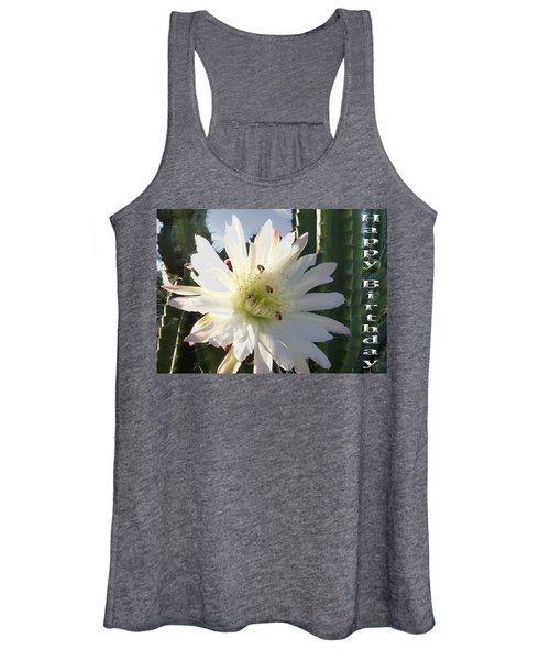 Happy Birthday Card And Print 9 Women's Tank Top