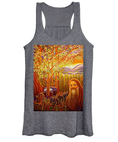 Hidden Mountain Man Women's Tank Top