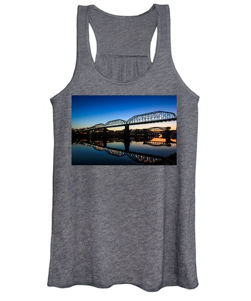 Holiday Lights Chattanooga Women's Tank Top