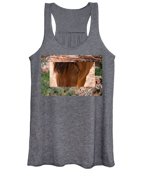 Horse And Canyon Women's Tank Top