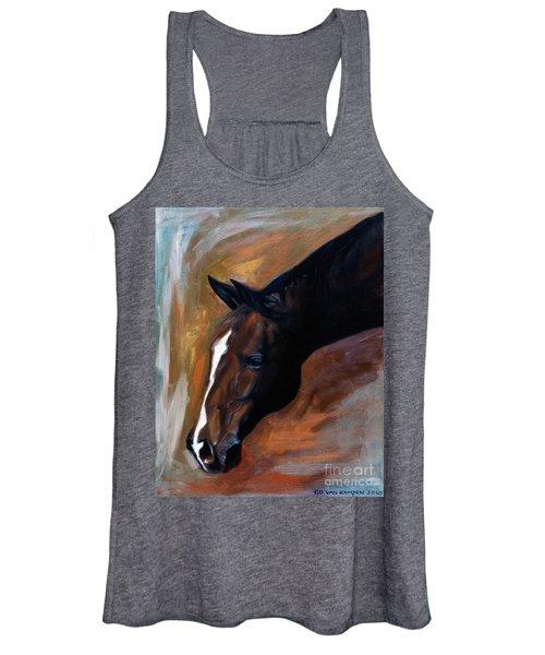 horse - Apple copper Women's Tank Top