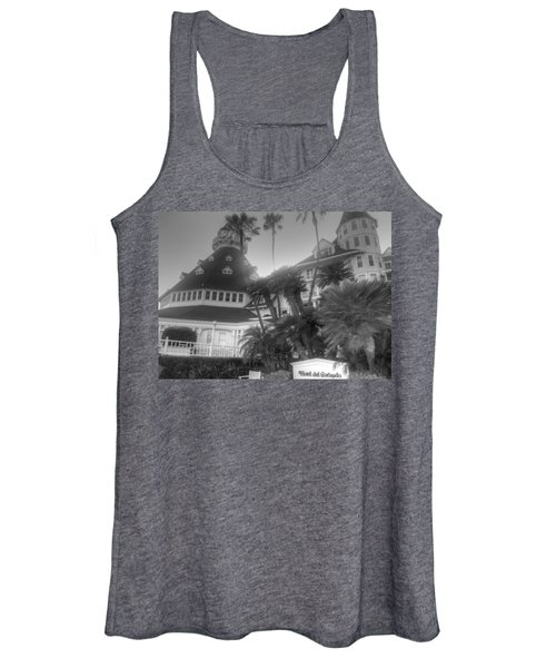 Hotel Del At Sunset Women's Tank Top
