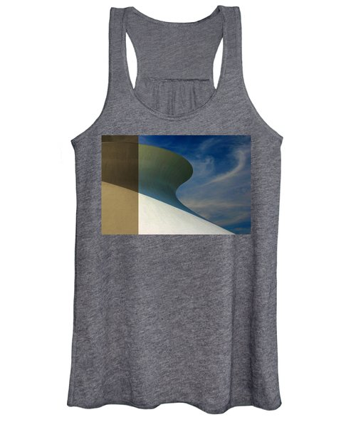 Hourglass Dome Cloud Swirl Women's Tank Top