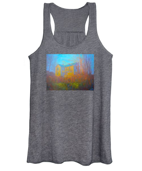 House In Blacksburg Women's Tank Top