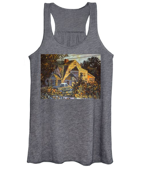 House In Christiansburg Women's Tank Top