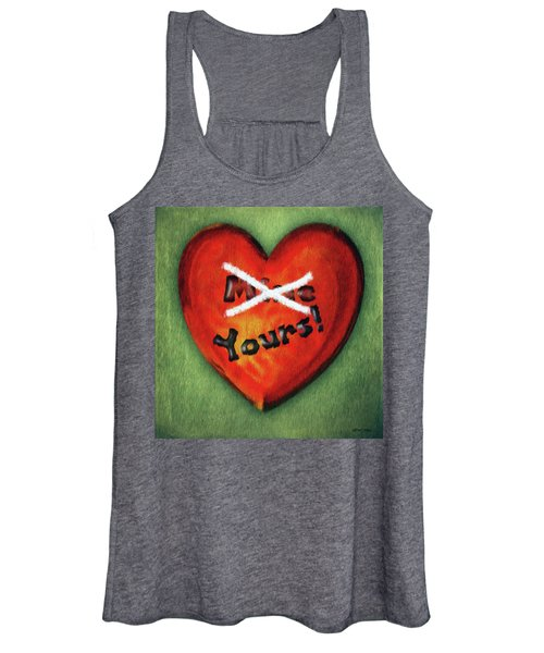 I Gave You My Heart Women's Tank Top