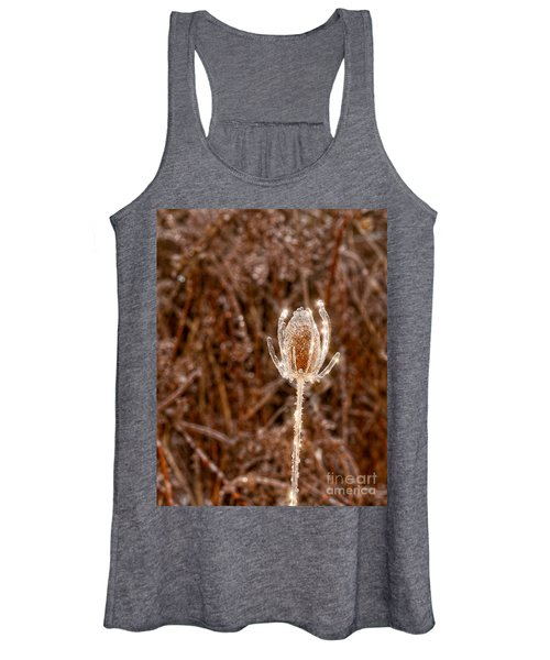 Icy Thistle Women's Tank Top