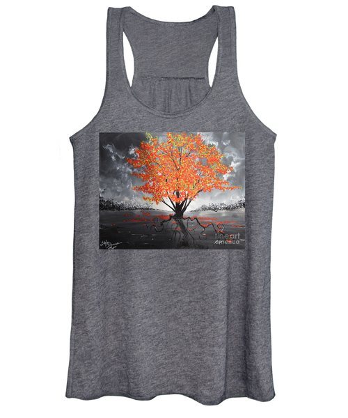 Blaze In The Twilight Women's Tank Top