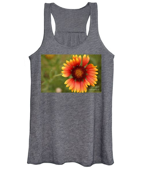 Indian Blanket Flower Women's Tank Top