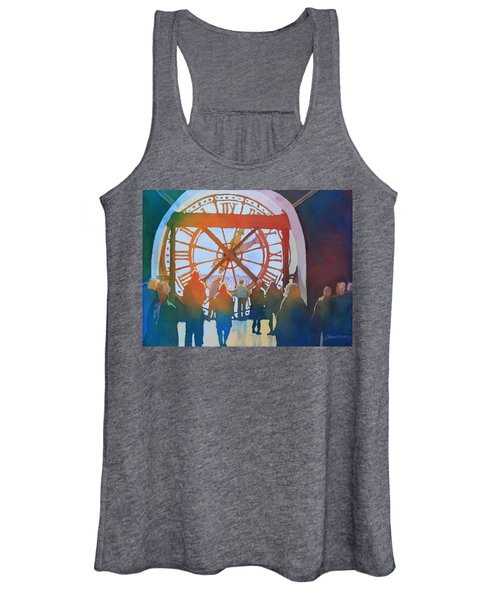 Inside Paris Time Women's Tank Top
