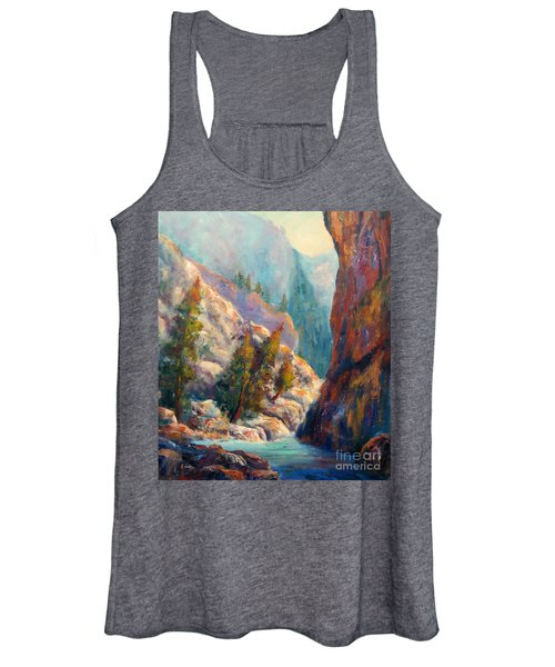 Into The Canyon Women's Tank Top